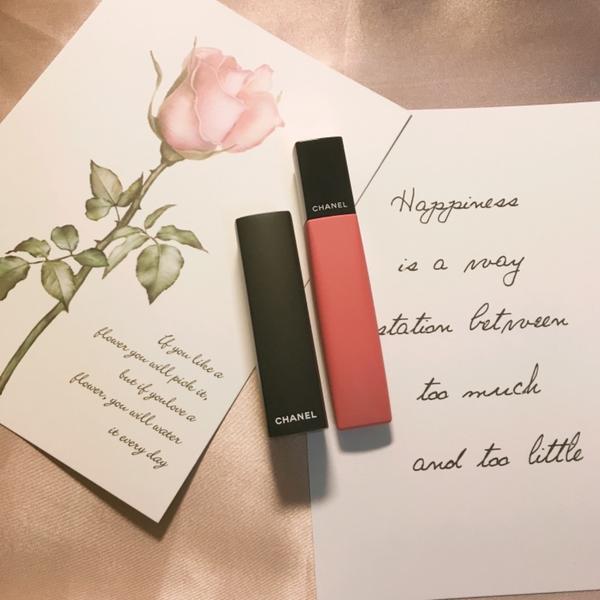 CHANEL 超炫耀的極緻絲絨唇膏分享  #CHANEL #超炫耀的極緻絲絨唇膏 #霧面唇膏  身爲