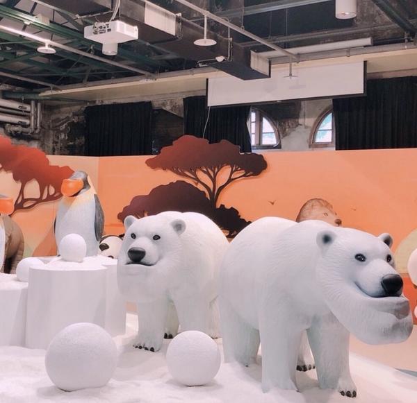 #戽斗星球 #展覽 前陣子剛結束的戽斗星球展~ 最近全家又有集點活動了!!因為真的真的太喜歡戽斗動物