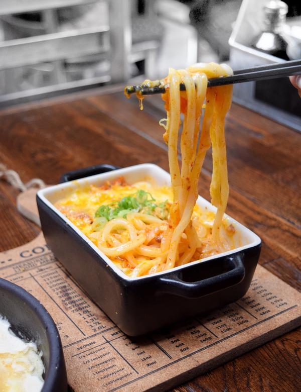 ▌泡菜起司焗烤 #義大利麵 ▌ 📍Green Leaf Cafe 葉カップ ⠀⠀⠀⠀⠀⠀⠀⠀ ht