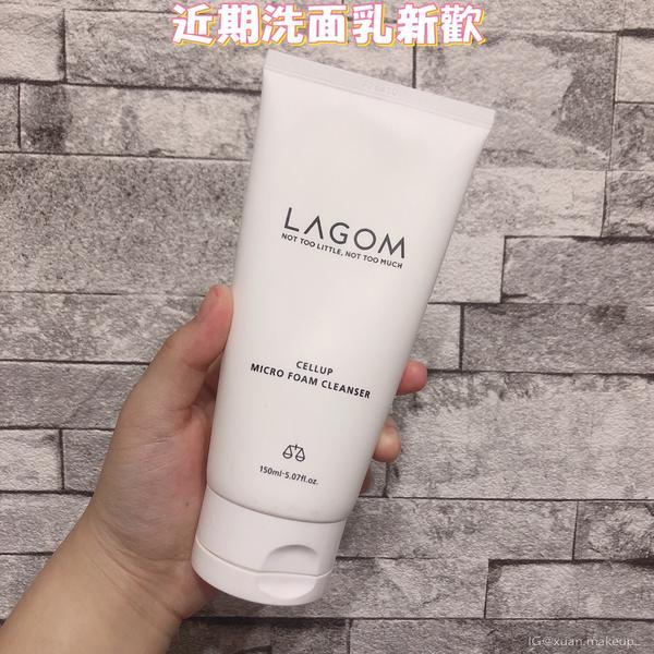 近期愛用洗面乳(文長) 🔹LAGOM洗面乳 這項產品是韓國美妝節目「Get it beauty」