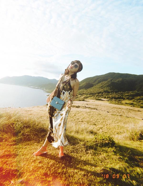 蘭嶼的青青草原 美呆 有絕美的夕陽🌇