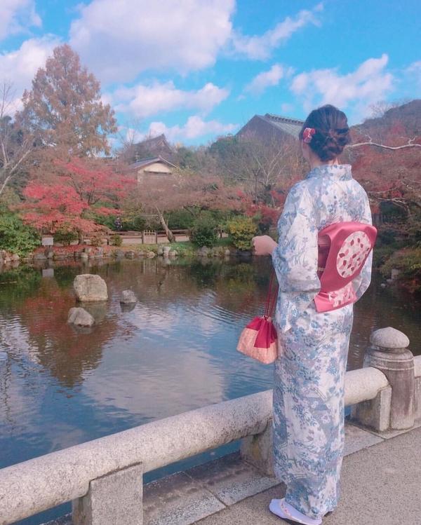 #日本波妞投稿 #我穿和服最美 #京都 #八坂神社⛩️