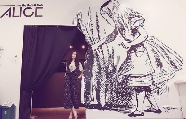 ALICEIntoTheRabbitHole 愛麗絲特展 이상한 나라의 앨리스 去年在首爾今年在濟