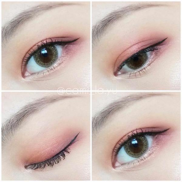 Makeup007-有點媚的眼睛 Colourpop_Give it to me straight