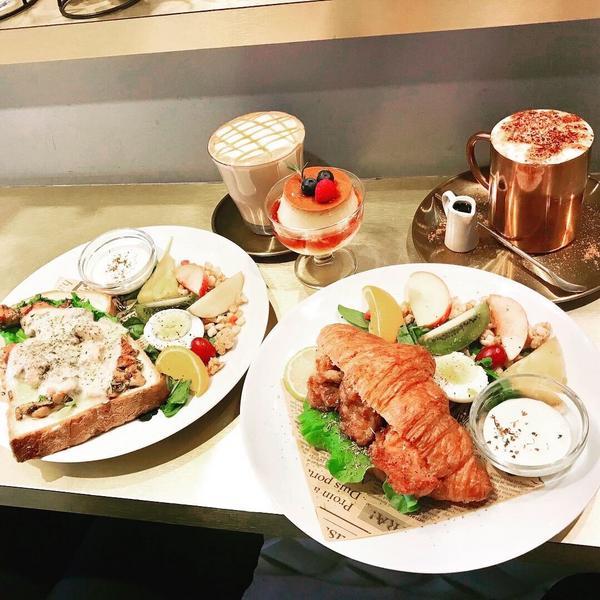 好吃的早午餐!可以在去吃一次! 蛋糕🍰沒吃到,留著下次在約! #喜歡咖啡☕️