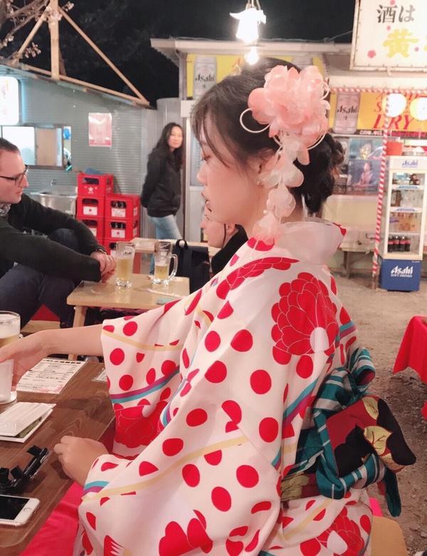 #日本波妞投稿 #我穿和服最美
