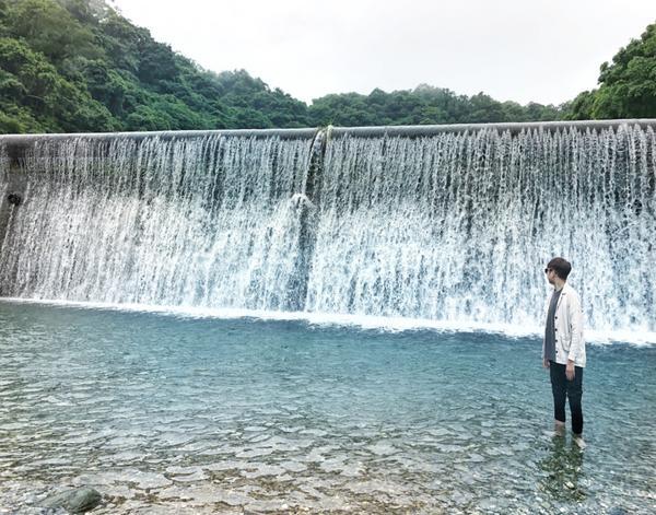 踏水❤️ 很少人知道的秘密花蓮景點 📍白鮑溪   #男朋友 #小情侶 #秘密基地