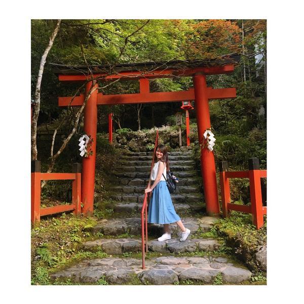 #貴船 #貴船神社 #鳥居 #京都 #旅遊 #日本自由行 #關西 #japan #kyoto #tr