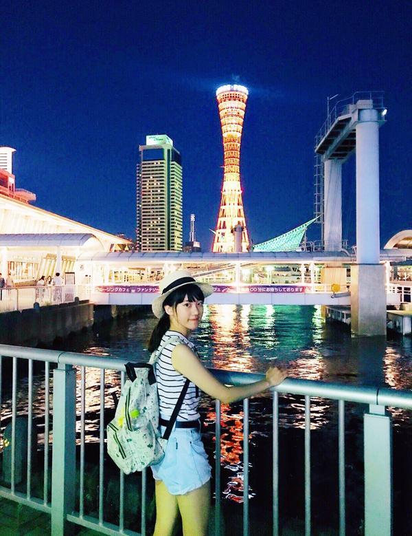 🇯🇵 神戶塔港 🚢  ➡️是當地的著名地標之一 ➡️Mosaic Garden馬賽克廣場好逛