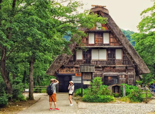 合掌村、日本、合掌屋