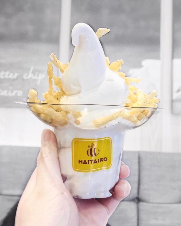 ▌弘大蜂蜜薯條🍟#冰淇淋 ▌ 📍해태로 ⠀⠀⠀⠀⠀⠀⠀⠀ https://instagram.c