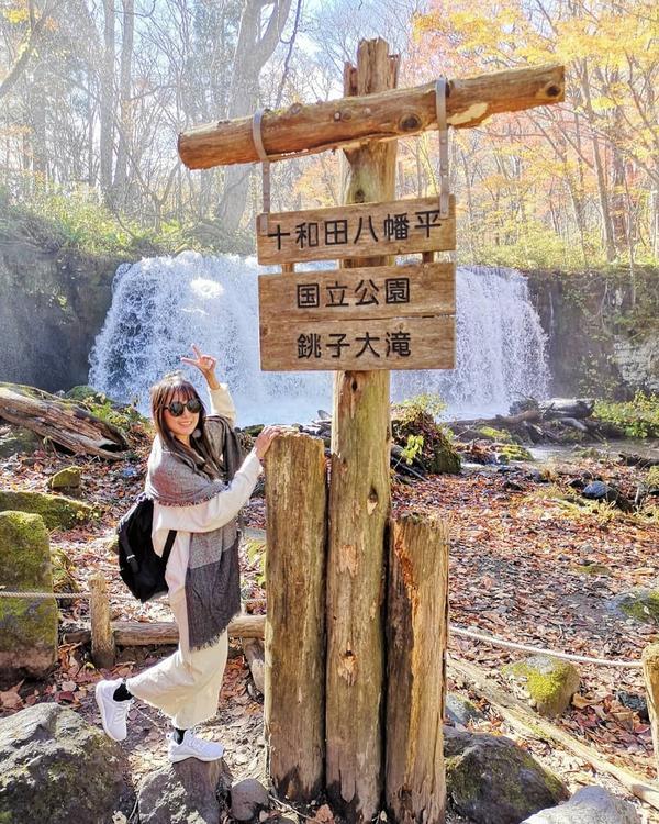 🎌奧入瀨溪傳說中的奧入瀨溪終於來踩點了👣 大自然的一切讓人嘆為觀止🌲🌷🌿🍁🍂🍃
