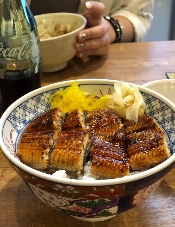 #🇯🇵 #大阪 #磯丸水產 #鰻魚飯