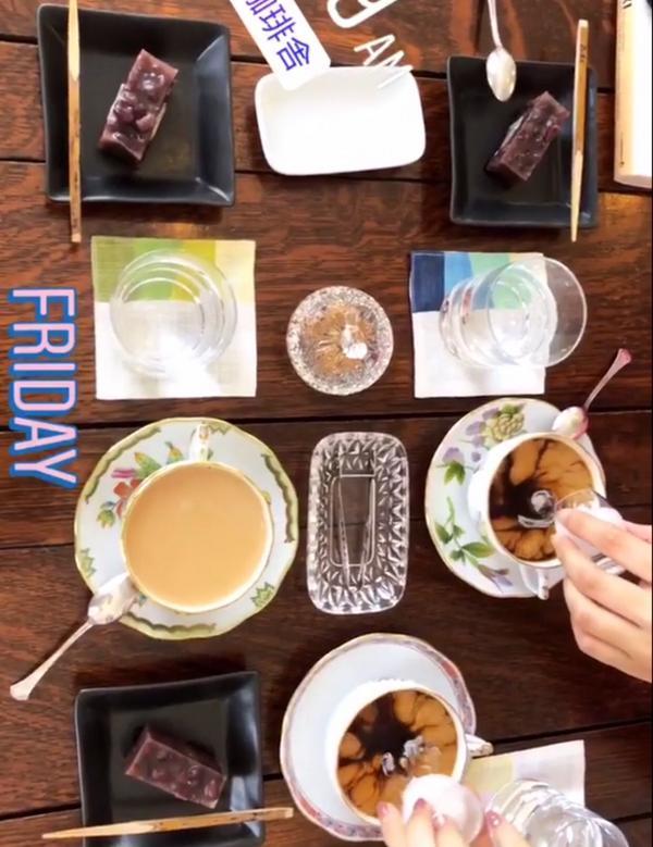 #🇯🇵 #京都 #立命館附近 #月讀咖啡   老闆似乎是以開心為經營標準 而不是賺錢  每天只有