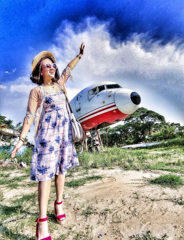 📍觀音廢棄飛機 ✈️ 為了拍這廢棄的飛機 我冒險了 🤨 #廢棄飛機