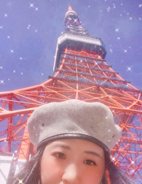 這樣拍東京鐵塔也很美 第一次離鐵鐵這麼近 但只是因爲要去海賊王主題樂園 #東京鐵塔#海賊王主題樂園