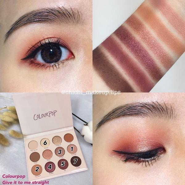Colourpop🥀👀 Give it to me straight 秋冬好夥伴💓 - (可惡