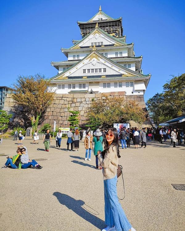 🎌大阪城金光閃閃大阪城🐅 天守閣裡的黃金茶室完全是豐臣秀吉金碧輝煌的極致表現✨✨✨✨✨ #日本
