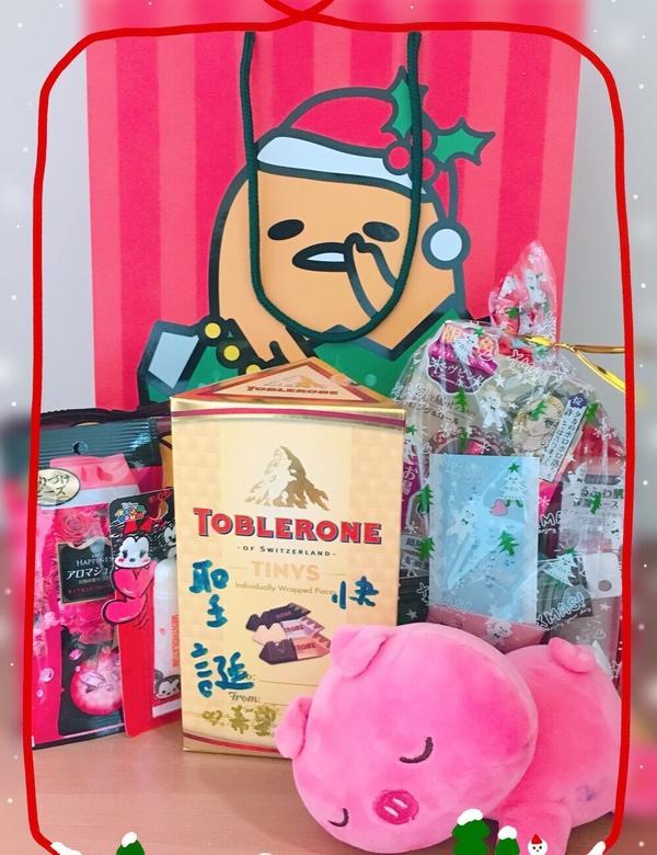 收到波波交換禮物(′∀`)♡ 12月真的好幸福啊❤️ #波波交換禮物