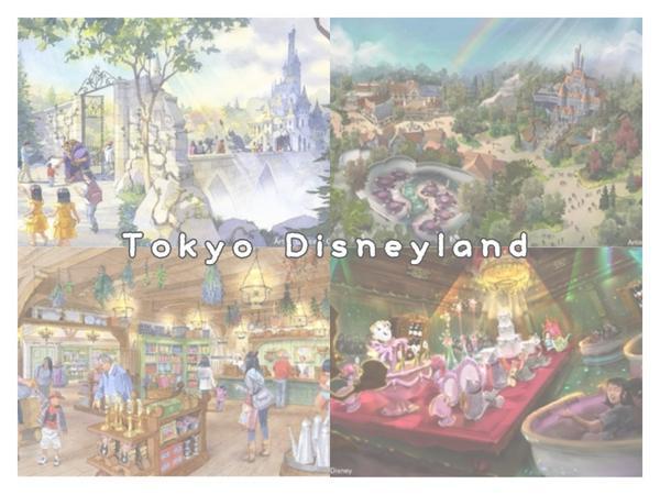 2020年春▪東京迪士尼🏰🎠美女與野獸系列設施佈置商店 「TDL『美女と野獣』エリアの施設名称決
