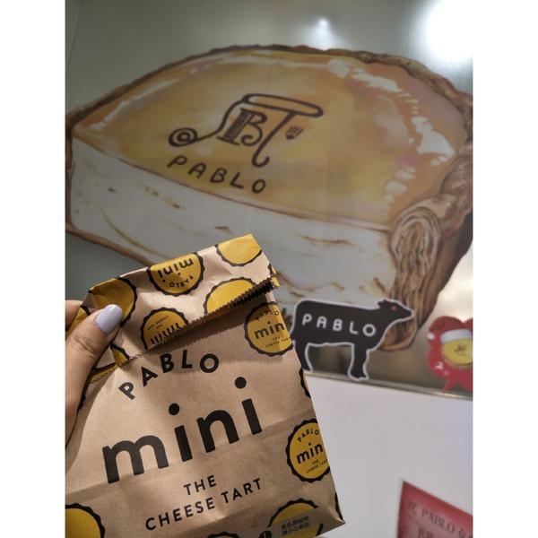 Pablo終於回來台灣 這次還帶著迷你塔!!  第一次吃到他們的起司塔是在沖繩的國際通上 這一次開在