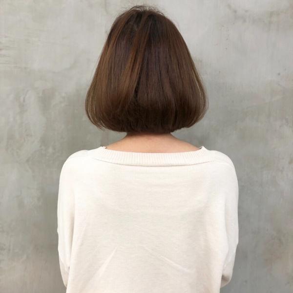 利用上次燙的捲度修剪✂️✂️完 立刻煥然一新✨ #剪髮 #短髮 #短bob #圓圓感bob🔝