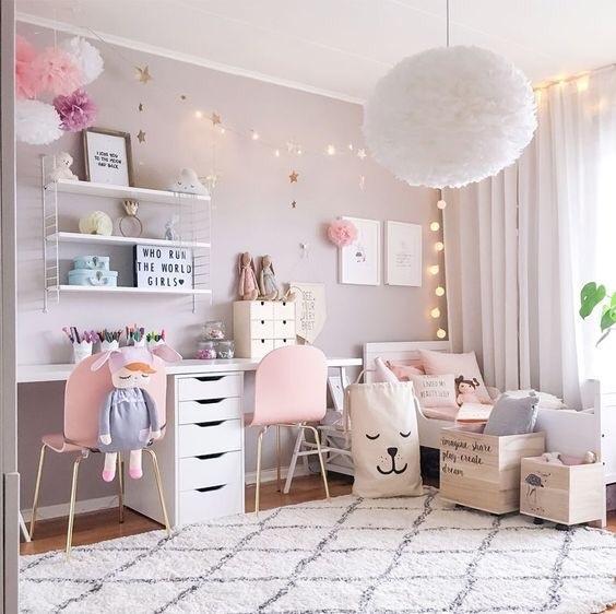 房間美照第三發:粉嫩夢幻房只要在房間加一點粉紅色 瞬間就能變少女 如果覺得自己的房間太單調 就來試試