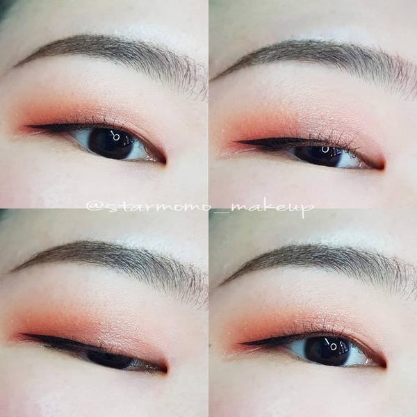 【單眼皮眼妝】【往⬅️步驟圖】 📍眼影盤 eyeshadow colourpop #shepale
