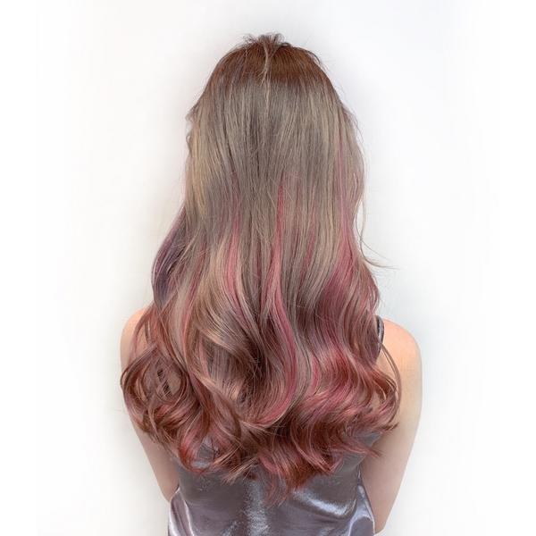 #當代霧色系  奶奶粉粉紫紫灰灰 一次擁有好多種髮色 還沒嘗試過的 不用害怕 一定會讓妳很尬意🥰