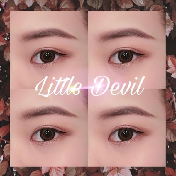 新手簡單妝容♡Little Devil-03沁舞狂歡 眼影盤新手分享~ 超級簡單新手妝容《Littl