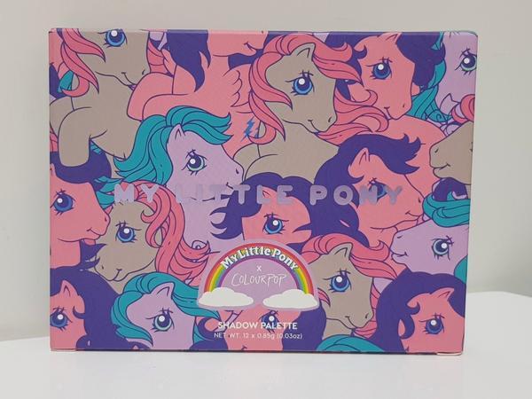 【眼影盤試色】colourpop #mylittlepony 【眼影盤試色】 colourpop #