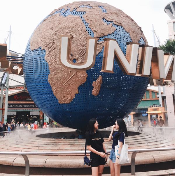 Universal Studios Singapore 趁著放假,來新加坡找朋友玩🇸🇬 這是我第