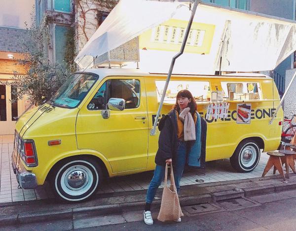 📍Commune 2nd 這次東京一定要踩一個餐車一個市集  Instagram: yellyyu