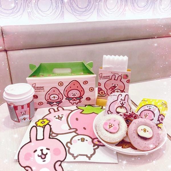 卡納赫拉🐰甜甜圈🍩2019/02/24 超萌聯名款來囉🐰 #卡納赫拉 X #misterdon