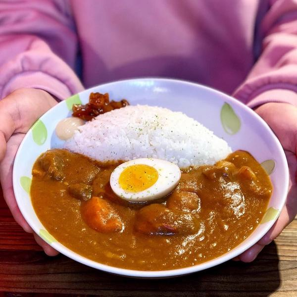 📍 NoName咖哩カレーライス專門店 _ 台北大安站 ❤ - ⭐ 無名牛肉咖喱飯(微辣) $15