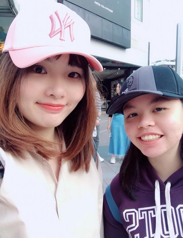 初三,台北市區#南西米朗其 大推 #信義區滿滿紅與粉紅紅 #來自日本的冰淇林好吃