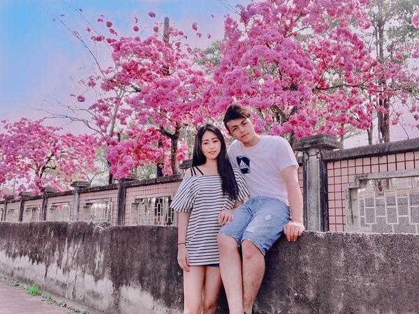 情人節充滿粉紅色泡泡 就跟這個景一樣美炸❤️  新景點在嘉義 「洋紅風鈴木」  #igtravel