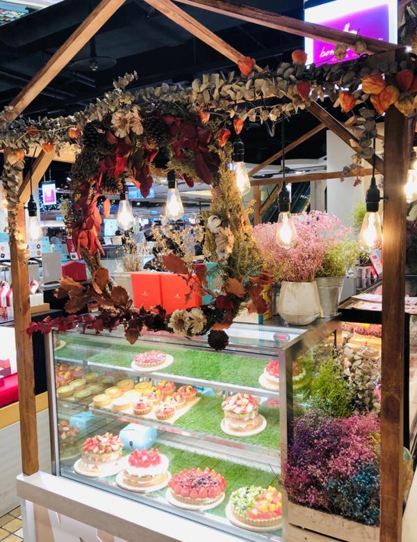 滿普通的甜食🍰Bonnie Sugar  #市政府站 #阪急百貨B2 #甜食 #超美乾燥花 #看起