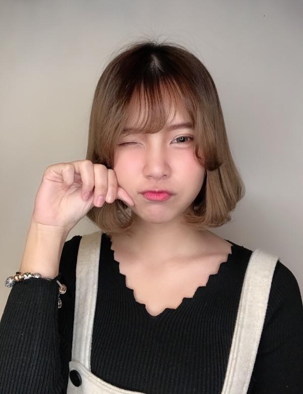 剪髮嘍剪髮 每次剪完都會造成一陣騷動 超級可愛 正妹 #貓系女孩