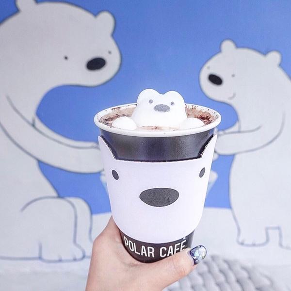 露台咖啡廳👉🏻👉🏻動動手指滑👀 - 台北民生社區的Polar Café在西門町也有店了🆕
