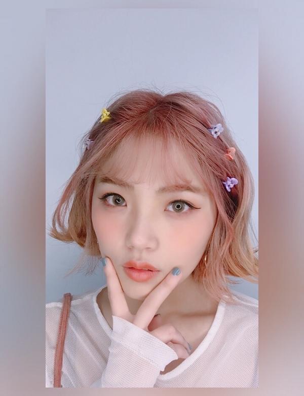 2019流行色活珊瑚橘粉春夏髮色春天快到了當然要換個髮色呀 粉粉嫩嫩的非常顯白~ / Hello!我