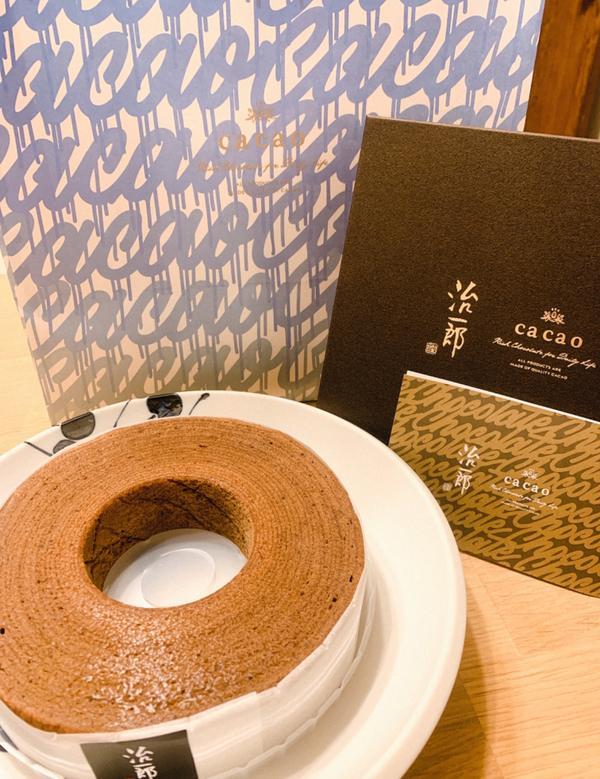 治一郎&cacao-巧克力年輪蛋糕當知名的年輪蛋糕店治一郎🍰 遇上了巧克力專賣店cacao🍫 碰