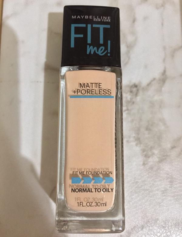 Maybelline Fit Me Foundation反孔特霧粉底液Maybelline Fit
