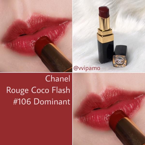 Chanel Rouge Coco Flash #106試色#chanelrougecocoflas