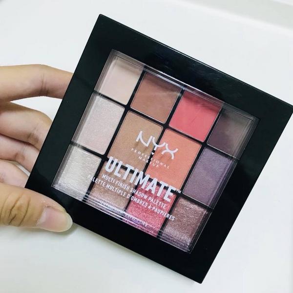 NYX眼影盤❤️配色完美! 顯色度佳!