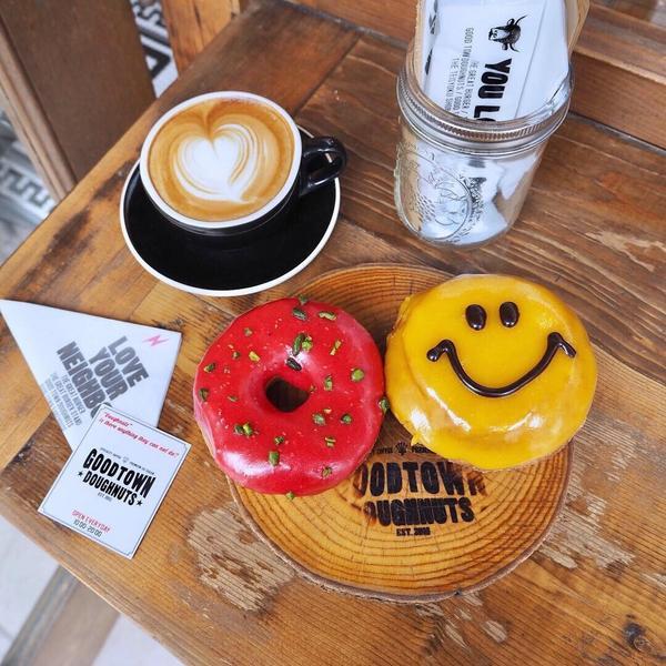 【東京珈琲】原宿.表參道人氣甜甜圈🍩GOOD TOWN DOUGHNUTS東京・原宿 表参道𓂃