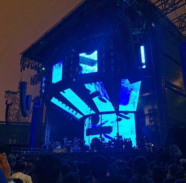 Ed Sheeran桃園巨蛋演唱會人生第三場演唱會 人生第一次搖滾區 真的太震撼 整場只有他一個人還