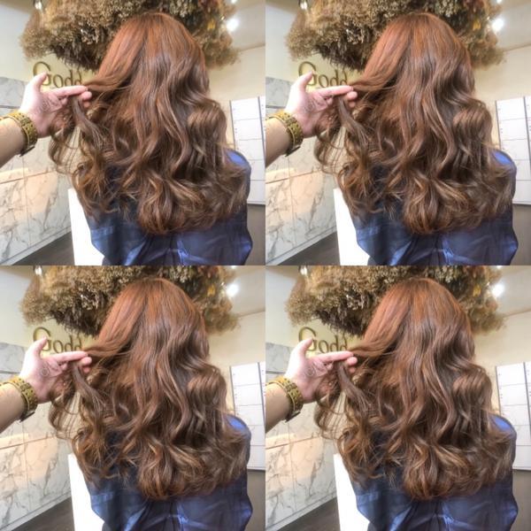 2019熱門髮色#冷萃咖啡色我是 #妳的髮型師nick  免漂髮質感色系 #冷萃咖啡色  暖暖的棕色