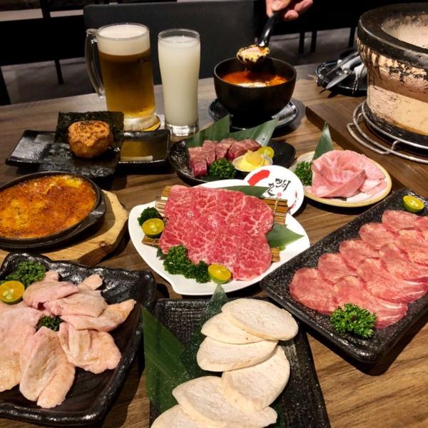台中明炙道炭火燒肉🥩2019/04/14 週末就是要吃肉肉!! 等了好久IG終於可以用實在是粉感動