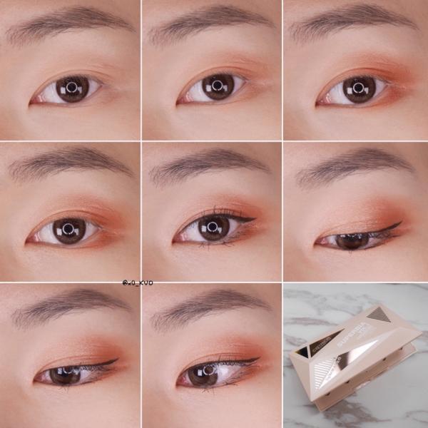 Catrice時尚狂潮訂製眼彩盤眼妝- Catrice新眼影盤的眼妝分享來了 這盤真的日常超好用 妝